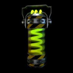 Capsule 3D Model