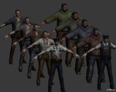 Zombie Pack 2 – REORC 3D Model