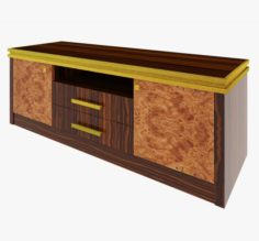 Luxury hest of drawers 3D Model