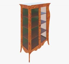 Furniture Classic Showcase 3D Model
