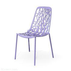 Blue Plastic Highchair