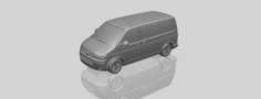 VW T5 GP Multivan 3D Model