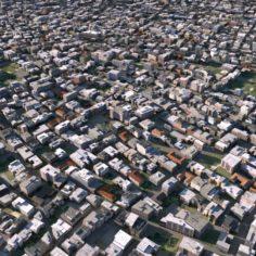 City Scape 04 3D Model