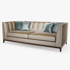 3D The sofa and chair company – Alexander sofa 3D Model