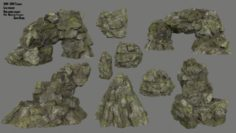 Rocks 3D Model