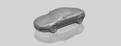 Aston Martin DB9 Coupe 3D Model