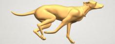 Skinny Dog 01 3D Model