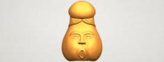 Dick 01 cute 3D Model