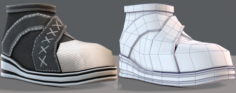 Shoes cartoonV14 3D Model