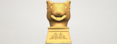 Chinese Horoscope of Rat 02 3D Model