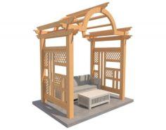 Pergola 7 3D Model