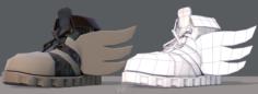 Shoes cartoonV13 3D Model