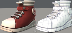 Shoes cartoonV05 3D Model