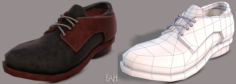 Shoes cartoonV04 3D Model