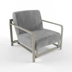 Desert Lounge Chair 3D Model