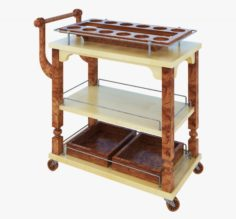 Serving trolley 3D Model