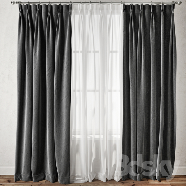 Curtain 102                                      3D Model