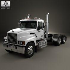 Mack Pinnacle Tractor Truck 2006 3D Model