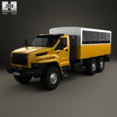 Ural Next Crew Truck 2016 3D Model