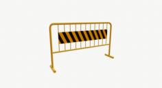 Roadblock 04 3D Model