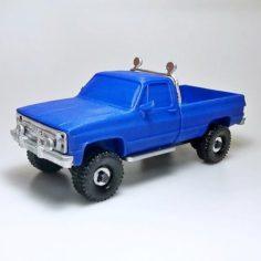 Gmc sierra truck 3D Model