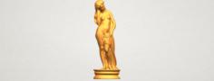 Naked Girl – Bathing06 3D Model