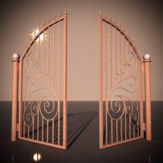 Bronze Gate 3D Model