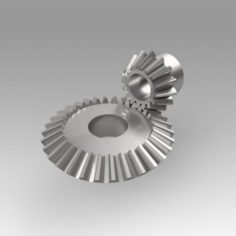 Pinion conical 3D Model