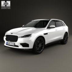 Generic SUV 2016 3D Model