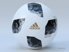 Soccer Ball Adidas 2018 FIFA World Cup Russia 3D Model