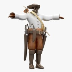 Pirate Cloth 3D Model