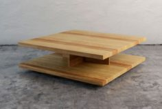 Complately Wood Coffe Table 3D Model