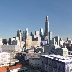 City Scape 06 3D Model