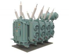Electrical Transformer4 3D Model