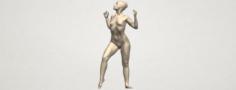 Naked Girl A01 3D Model