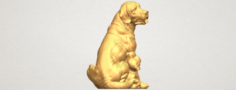 Dog and Puppy 01 3D Model