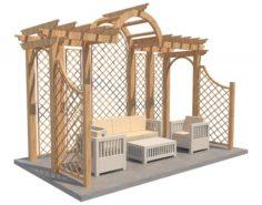 Pergola 8 3D Model