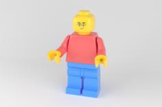 Lego person 3D Model