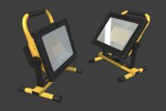 LED Work Light 3D Model
