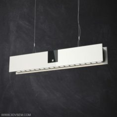 Straight Ceiling Lamp 3D Model