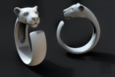 Ring of the cat family 3D Model