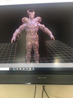 MetalMan 3D Model