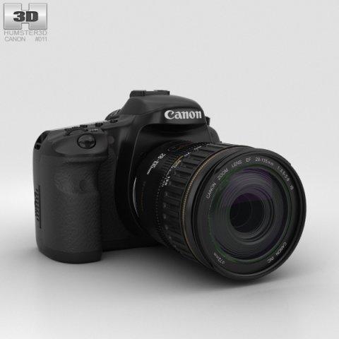 Canon EOS 7D 3D Model