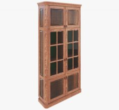 Furniture Classic Bookcase 3D Model