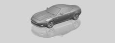 Jaugar X150 Coupe Cabriolet 2005 3D Model