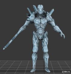 Scrake Zombie 3D Model