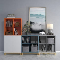 Cabinet combination Ikea 2                                      3D Model