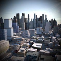 City Scape 03 3D Model