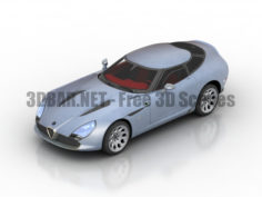Forza Horizon Cars 2011 Alfa Romeo TZ3 Stradale Zagato 3D Collection