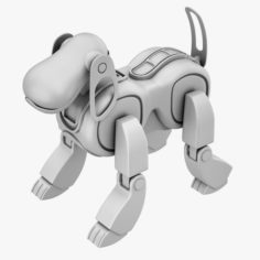 Aibo Dog 3D Print 3D Model